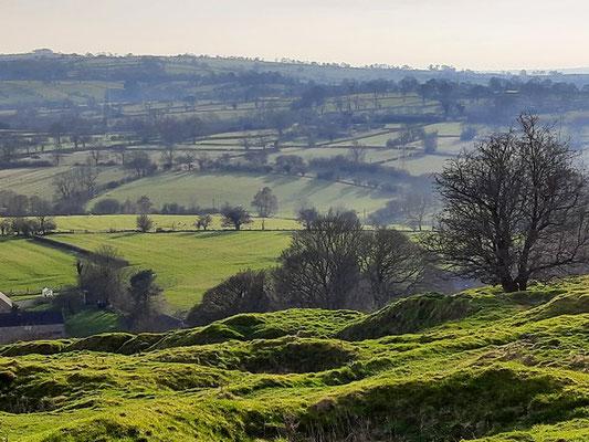 Beautiful countryside near Carsington Water
