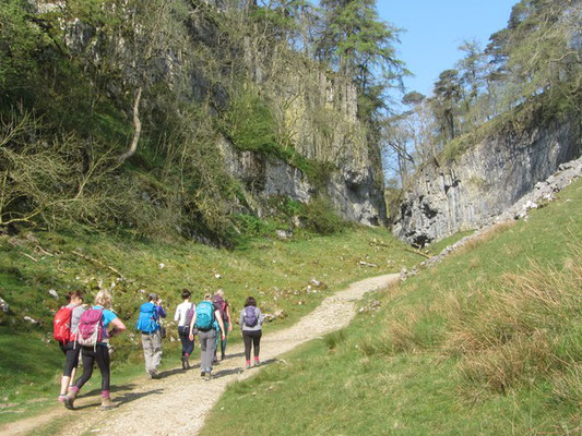 Approach to Trow Gill