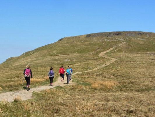 Ascent of Ingleborough