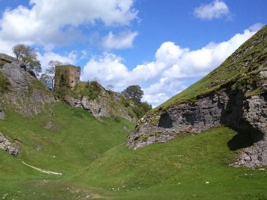 Peveril Castle, Cave Dale