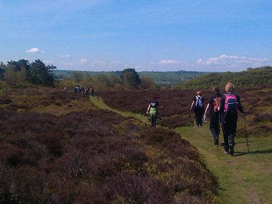 White Peak Challenge over Stanton Moor
