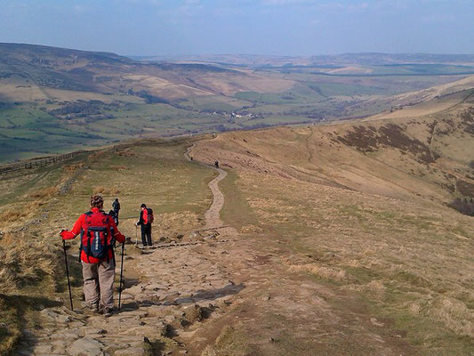 The Edale Skyline Challenge, on The Great Ridge