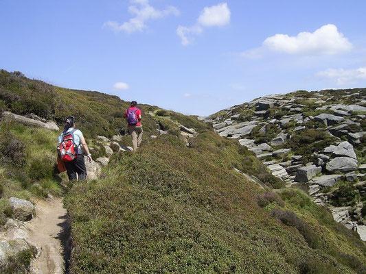 The edge of the Kinder Plateau