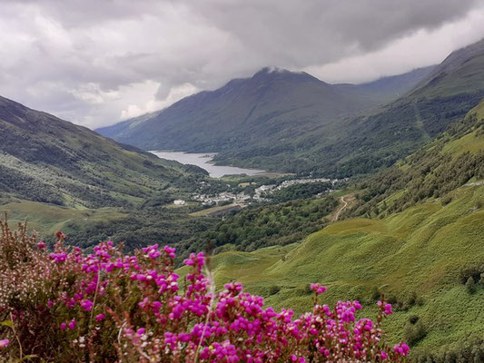 View from the Kinlochleven Pipeline Path