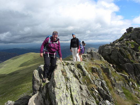 Helvellyn via Striding Edge guided walk