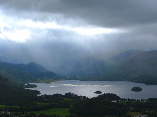 View over Derwent Water from Latrigg