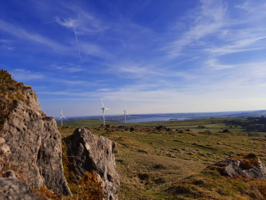 View from Harborough Rocks on guided walk