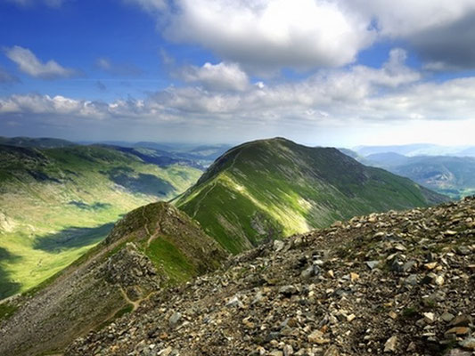 St Sunday Crag from Cofa Pike. Photo - Dreamstime.