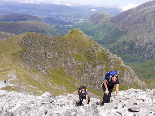 North Ridge of Stob Ban