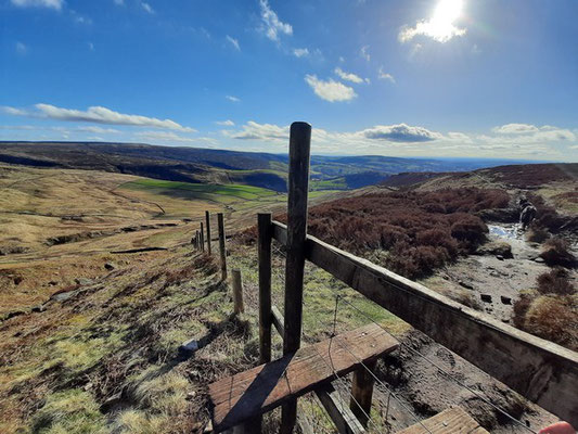 View on our Bleaklow guided walk