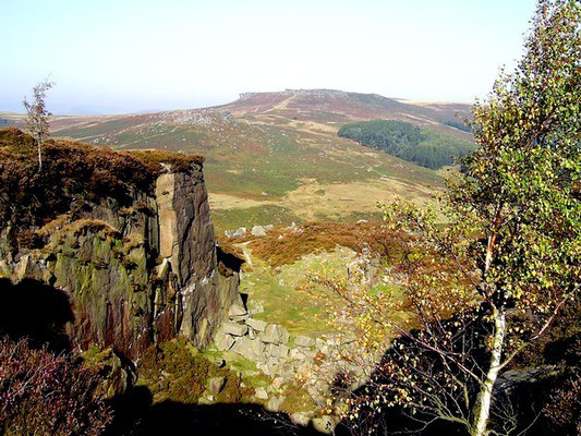 View from Burbage Edge