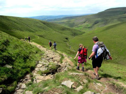 Peak District guided moorland walk