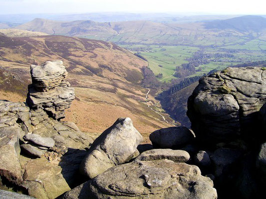 Kinder Scout edges guided walk.