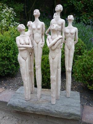 aardewerk beeldengroep € 490