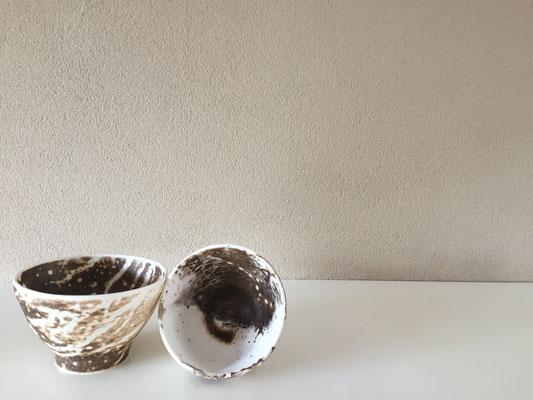 obvara techniek decoratieve schaaltjes € 35