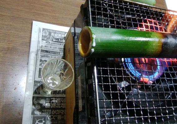 竹瀝を採ってみた