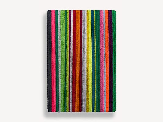 Barbara Reck-Irmler: Box Nr. 2 • 2018 • Textil, Holz • 82 x 122 x 10 cm