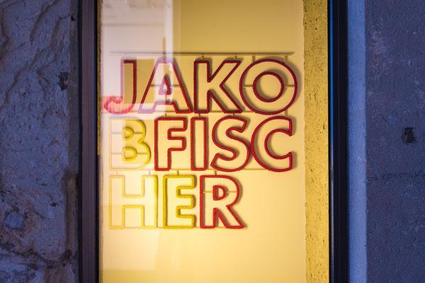 Barbara Reck-Irmler · JAKOBFISCHER · 2019 · Textil, Schichtholz · 101 x 91 x 2,5 cm