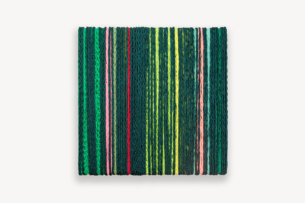 Barbara Reck-Irmler · BOX Nr. 13 · 2018 · Textil, Schichtholz · 70 x 72 x 10 cm