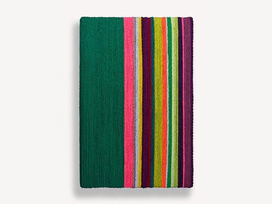 Barbara Reck-Irmler: Box Nr. 5 • 2018 • Textil, Holz • 82 x 122 x 10 cm