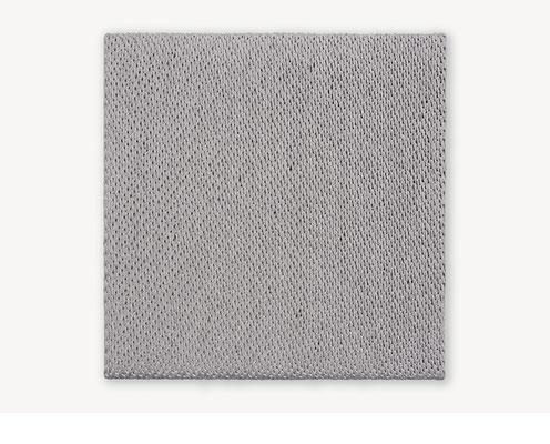 Barbara Reck-Irmler: Board 12 • 2018 • Textil, Schichtholz • 60 x 60 cm