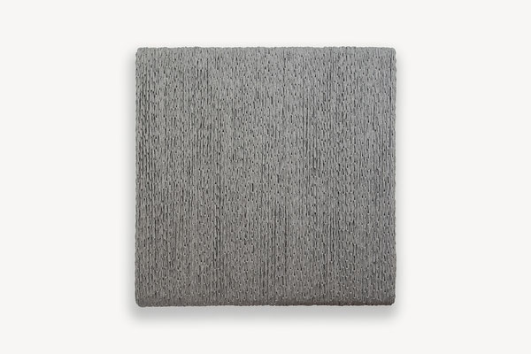 Barbara Reck-Irmler · BOX Nr. 07 · 2018 · Textil, Schichtholz · 72 x 72 x 10 cm