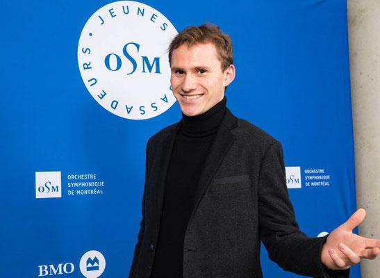 Jeune ambassadeur de l'Orchestre symphonique de Montréal