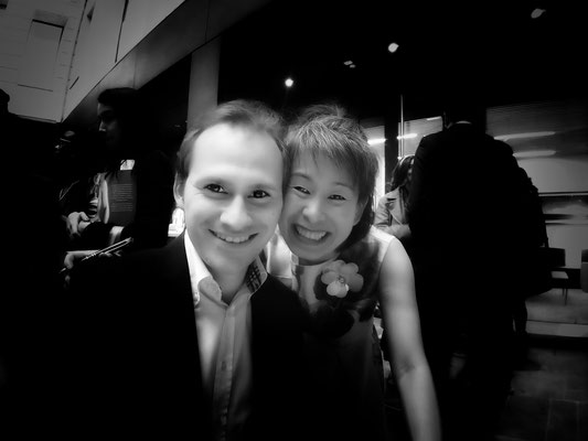 Avec l'auteure Kim Thúy au Centre culturel canadien