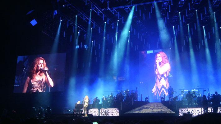 Céline Dion en concert au Centre Vidéotron à Québec