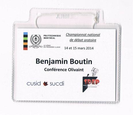 Badge SUCDI