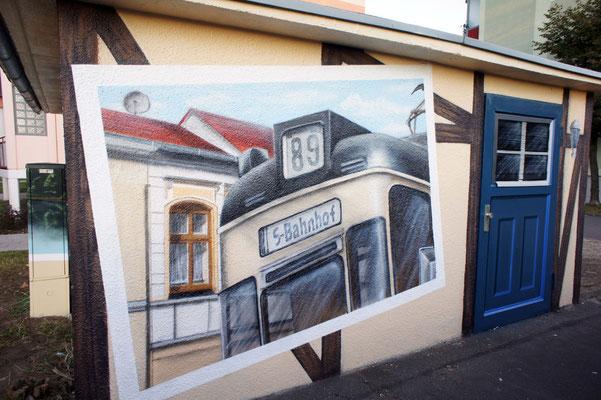 Graffiti auf Fassade malen lassen