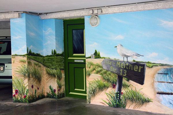 Wandbild auf Aussen Wand 7 Wände sprühen lassen- Wandmaler für Fassaden Graffiti