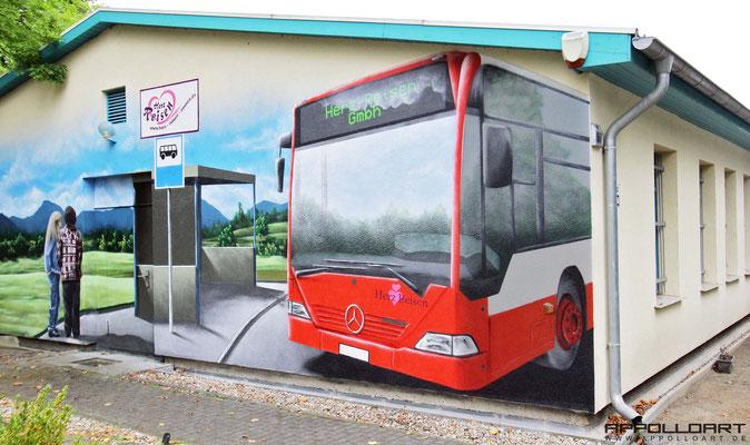 Wandmalerei Berlin -Trafostation Ostsee