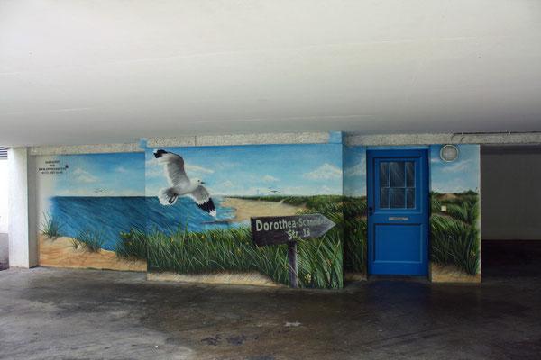 Fassadenbild durch Fassadenmalerei- Fassadenkünstler -Künstler