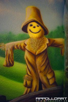 Kinderzimmergestaltung mit Graffiti und Wandkunst