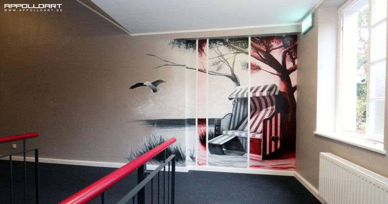 Ostsee Motiv mitten in Berlin - Büro und Eingangsbereich Tiergarten Mitte Prenzlauer Berg