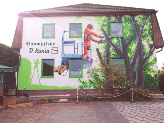 Fassadenkunst Brandenburg- Graffiti Künstler Berlin
