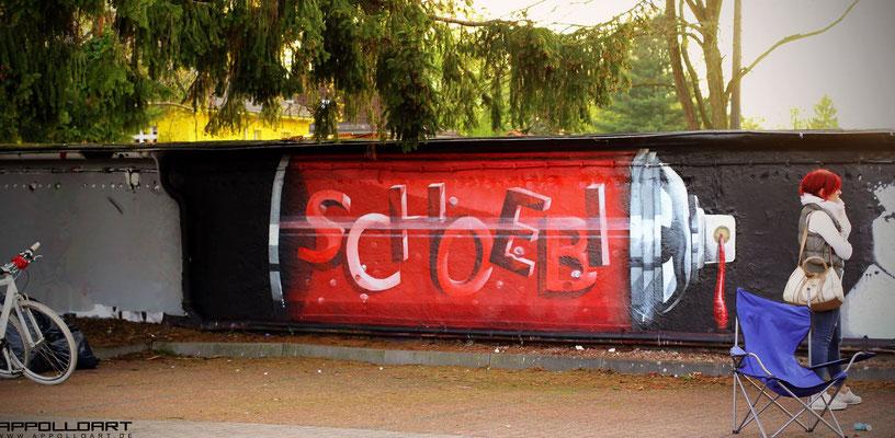 Moderne Graffitikunst in Berlin und Brandenburg
