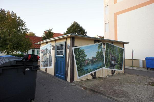 Graffiti Malerei-Fassadengestaltung Brandenburg