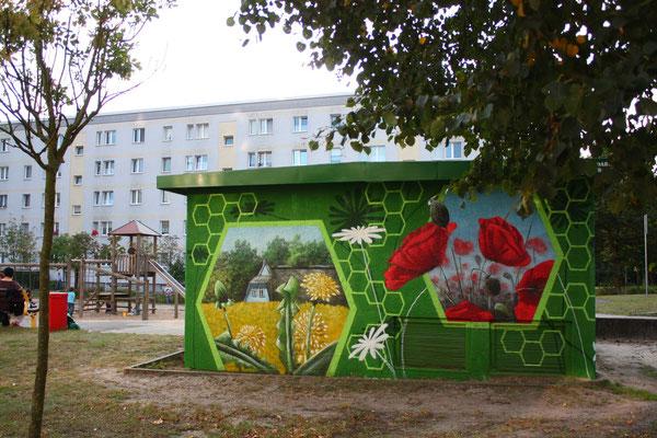 Wanddesign mit Graffiti und Airbrush ob Hannover Ostsee Hamburg oder Bayern sie können uns buchen