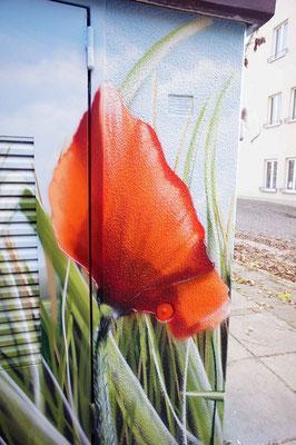 Fassadenkunst am Bau Berlin