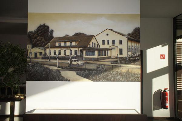 Fotovorlage von Früher und 3d Illusion gesprayt in Neuenhagen bei Berlin