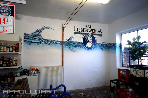 Illusionsmalerei Wandmalerei Bilder Berlin Spreewald Innenraumgestaltung
