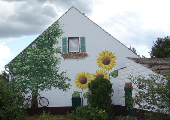 Fassadenmalerei Cottbus - graffitikünstler Wandgestaltung