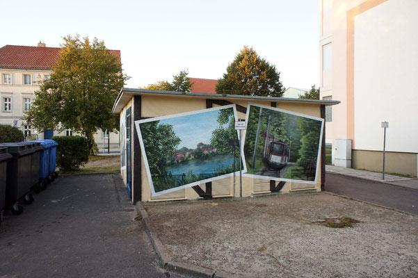 Fassadengestaltung modern Fotos- Neuenhagen
