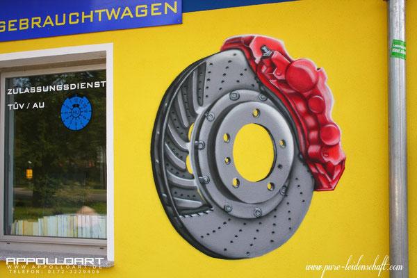 Autotuning Airbrush Motorhaube Rehfelde in der Märkischen Schweiz