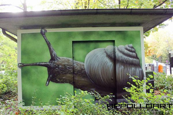 Wandbilder Potsdam- Graffitikünstler aus Berlin und Rostock
