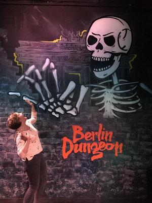 Wandmalerei Berlin- Dungeon Graffitikunst Mitte