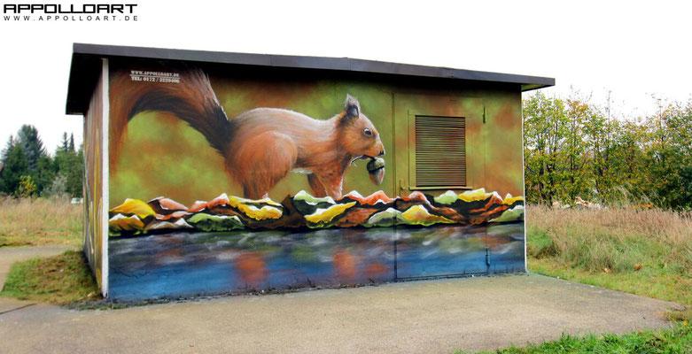 Trafo Graffiti malen lassen Leipzig