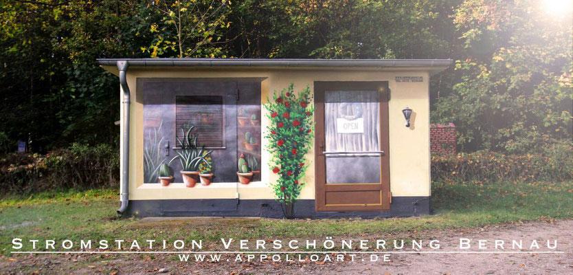 Graffiti Fassadenmaler München gesucht- Bilder an der Fassadenwand